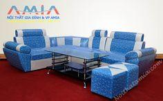 Sofa da gia re Wooden Sofa Set Designs, Corner Sofa Design, Leather Corner Sofa, Outdoor Furniture Sets, Outdoor Decor, L Shape, Couch, Home Decor, Modern Living Room Furniture