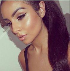 Cool make up Makeup On Fleek, Kiss Makeup, Flawless Makeup, Gorgeous Makeup, Pretty Makeup, Love Makeup, Makeup Inspo, Makeup Inspiration, Beauty Makeup