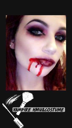 Vampire Costume Women, Gothic Vampire Costume, Vampire Costumes, Zombie Halloween Costumes, Diy Costumes, Halloween Fun, Costume Ideas, Haloween Makeup, Costume Makeup
