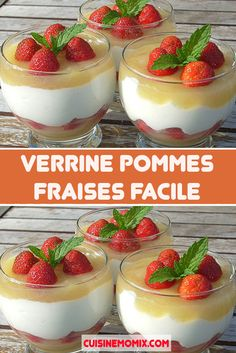 Recipes Using Fruit, Dessert Recipes, Dessert Thermomix, Baked Pears, Mousse Dessert, Fruit Cobbler, Dessert Aux Fruits, Fruit Benefits, Berry Trifle
