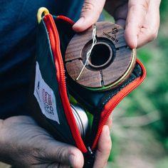 Topo Designs x Tenkara Rod Co Kit Fly Fishing Rods, Gone Fishing, Vintage Fishing, Fishing Equipment, Fly Tying, Oakley Sunglasses, Metal Working, Wallet, Sneakers