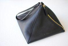 Jil Sander Triangle Bag | Minimal + Chic