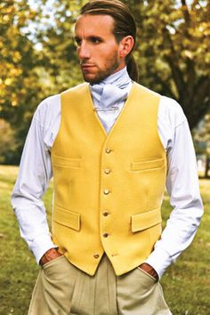 Horse Country Store, Canary Vest in Doeskin Wool