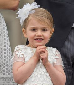 Princess Estelle of Sweden on the occasion of her brother, Prince Oscar's Christening on 27th May 2016  syzY17RjIX4.jpg