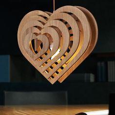 led e27 Nordic Wooden Sweet Heart LED Lamp LED Light.Pendant Lights.Pendant Lamp.Pendant light For Dinning Room Foyer Bedroom