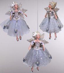 Snow fairies ornaments