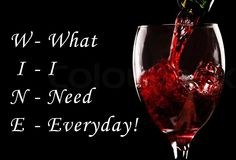 Oh you didn't know thats what it stood for?! www.weinkeller.ca #wine #love #wino #everyday #drink #health #happiness #glass #dinner #weinkeller #food