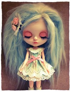 Custom Blythe Clementine by Rabbitwithoutears