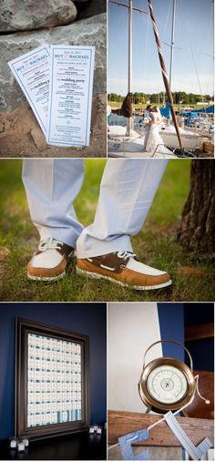 Boyne City Wedding by Genevieve Mckeiver Photography Boyne City, Party Planning, Wedding Blog, Nautical, Style Me, How To Plan, Pretty, Photography, Navy Marine