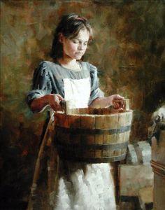Washing Day . Morgan Weistling