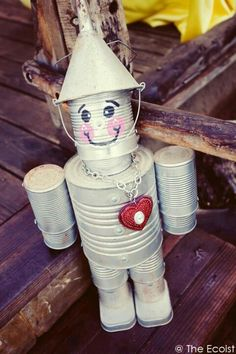 Tin Can Man  (I love this little Tin Man)