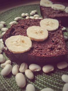 QuchniaWege: Kakaowe ciasto fasolowe - bez mąki, bez cukru, dietetyczne.