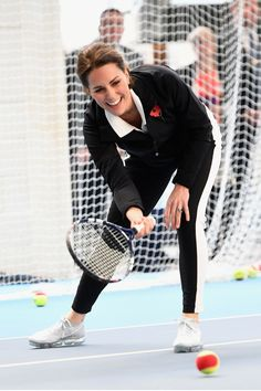 Kate Middleton Plays Tennis with Children in Solo Royal Duties