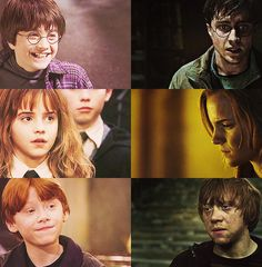 1000 images about harry potter on pinterest rupert - Ron weasley and hermione granger kids ...