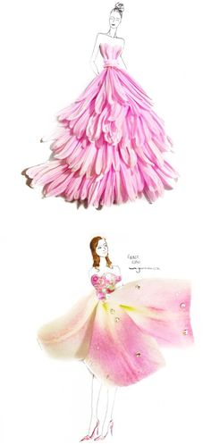 Singaporean 22-year-old fashion artist Grace Ciao has brought pleasant surprises to the world with her breathtaking illustrations that transform flower petals into amazing dresses worthy of any runway! Inspired by a pure hope to preserve the beauty of flowers, Grace came up with a series of stunning designs that are truly unconventional and remarkable. Join …