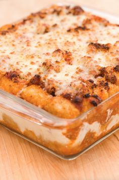 This classic lasagna uses rows of tater tots instead of noodles, because life is short and sometimes the best way to commemorate an occasion is with a ridiculous, what-was-I-thinking? treat. Get the recipe.   - Delish.com