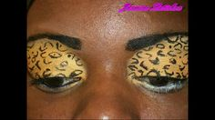 Virtual Makeover: Color Blocking With Earrings And Makeup Series: Leopard/Cheetah Frill