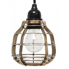HK-living Hanglamp LAB met plafondkapje messing metaal Ø13x17cm, LAB lamp messing