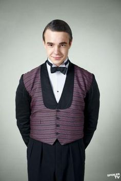 Johnny Proude (Nico Mirallegro) in Upstairs Downstairs