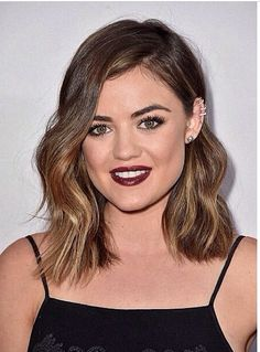 Favorite haircut and hair color .#lucyhale from #prettylittleliars