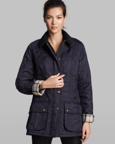 Barbour Jacket - Beadnell Polar Quilted   Bloomingdales's