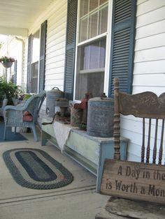 Creative Country Mom's Garden: Our Home