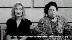 American Horror Story -Coven /Jessica Lange & Kathy Bates/