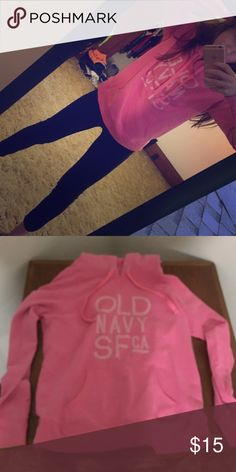 Brand new old navy sweat shirt Brand new never worn sweat shirt from old navy! Very warm and comfy Old Navy Tops Sweatshirts & Hoodies