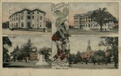 Old #Baylor University Christmas postcard (via TexasCollection on Twitter)