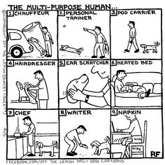 💕 Sunday Funny 😆  #offleash #Comics #Farside #Sundayfunday  #Sundayfunny #merryjaneandthor I Love Dogs, Puppy Love, Animals And Pets, Funny Animals, Dog Comics, Dog Jokes, Dog Humour, Cartoon Dog, Dog Cartoons