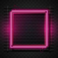 Pink Neon Wallpaper, Dark Background Wallpaper, Dark Wood Background, Lit Wallpaper, Background Pictures, Neon Rosa, Shadow Frame, Photo Frame Design, Instagram Frame Template