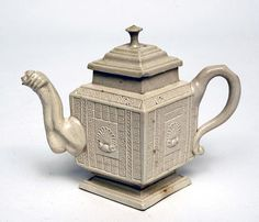 Teapot Staffordshire Earthenware c. 1745-55