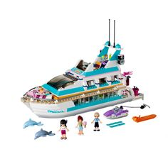 Buy LEGO Friends Dolphin Cruiser securely online today at a great price. LEGO Friends Dolphin Cruiser available today at Freddies Toy Box.