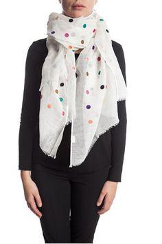 Sjaal met stippen van Otracosa van Otra Cosa