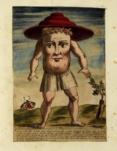 Creatures from Monstrorum historia, by Ulisse Aldrovandi, 1642