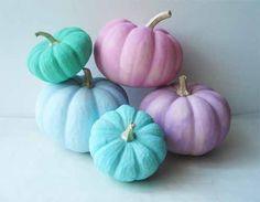 Pastel Pumpkins I Such Pretty Things Blog