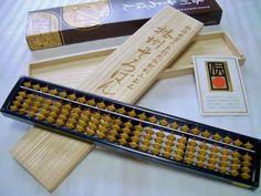 Japanese abacus, soroban. Still in use. 播州そろばん | 伝統的工芸品 | 伝統工芸 青山スクエア