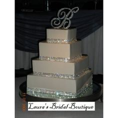 MY DREAM wedding cake. I love this cake!! AND the Glam that goes with it