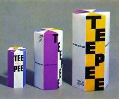 "thisisdisplay: "" Transparent Papers, LTD. – Yusaku Kamekura, 1959 Source: The Graphic Design of Yusaku Kamekura """