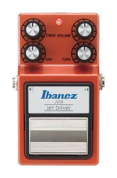 The Ibanez JD9 produces a unique sound reminiscent of a high-grade handcrafted effects pedal. From piercing distortion to the warm crunch of a tube amp, this pedal features a wide variety of drive con