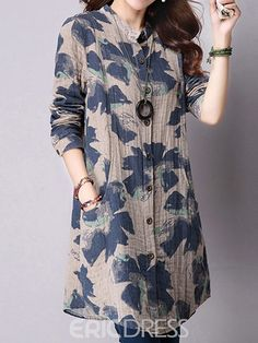 Womens Style Discover Ericdress Print Mid-Length Blouse Lucia Helena Join in the world of pin Tunic Designs Kurta Designs Women Dress Neck Designs Short Kurti Designs Linen Dresses Casual Dresses Fashion Dresses Backless Maxi Dresses Hijab Stile Tunic Designs, Kurta Designs Women, Dress Neck Designs, Designs For Dresses, Short Kurti Designs, Elegantes Outfit Damen, Hijab Fashion, Fashion Dresses, Kurta Neck Design