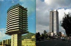 Skyscraper, Multi Story Building, Tech, City, Bogota Colombia, Historical Photos, 19th Century, Perspective, Antique Photos