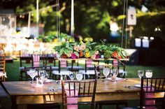 Outdoor garden style wedding receptions, newest trend for 2015