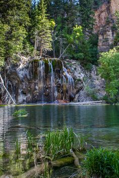 Hanging Lake in Glenwood Springs, #Colorado. #Waterfalls #Travel  Want to see this one!