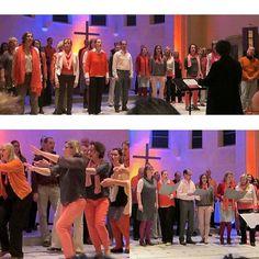 Impressionen vom Konzert mit den Soulville Jazz Singers am letzten Freitag. Erkennt ihr mich? Geile Strümpfe oder? #chor #konzert