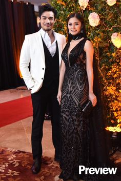 Star Magic Ball 2016. Kim Chiu in Val Taguba and Xian Lim in Francis Libiran