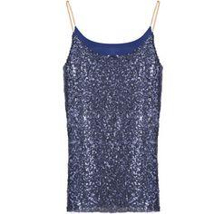 22,90EUR Glittertop Shirt mit Glitzer blau