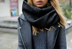 infinity neck ring or loop - the easiest scarf style ever.