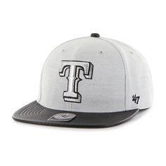 official photos 016e5 d8e64 Texas Rangers Riverside Captain Gray 47 Brand Adjustable Hat