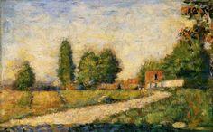 Village Road : Georges Seurat